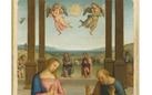 L'Adorazione dei pastori di Perugino