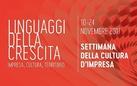 XVI Settimana della Cultura d'Impresa - I linguaggi della crescita: impresa, cultura, territorio