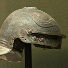 Room X, the helmet recovered from the water