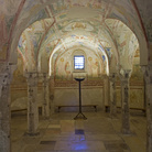Crypt of frescoes
