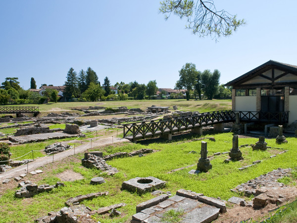 The archeological ruins of the Fondo Cal at Aquileia. Photo by © Gianluca Baronchelli - Aquileia